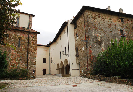 abbeys: The Abbazia di Rosazzo - Rosazzo Abbey - which dates back to around 1070 and is located in Friuli, north east Italy.