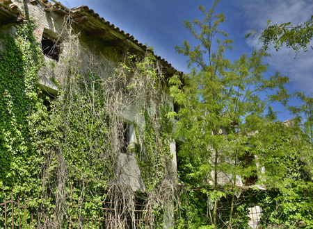 derelict: A derelict former farmhouse in northern Italy
