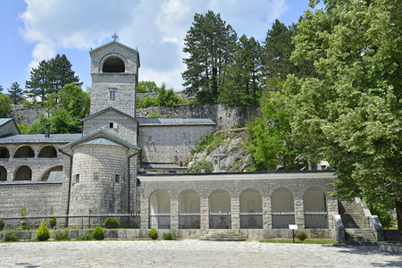 earlier: The Serbian Orthodox Monastery in the old royal capital of Montenegro Cetinje. The monestary was built in 1704 on the site of an earlier monestary.