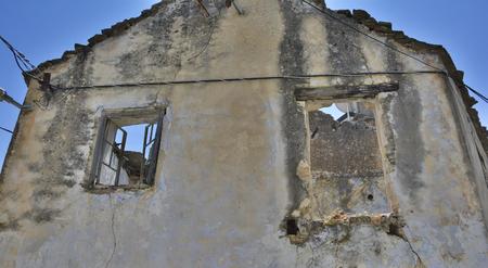derelict: An historic derelict building in the southern city of Trebinje in Republika Srpska, Bosnia and Herzegovina.