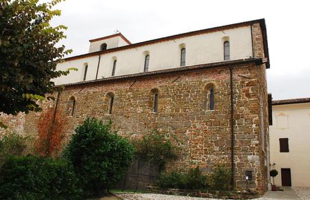 abbazia: The Abbazia di Rosazzo - Rosazzo Abbey - which dates back to around 1070 and is located in Friuli, north east Italy.
