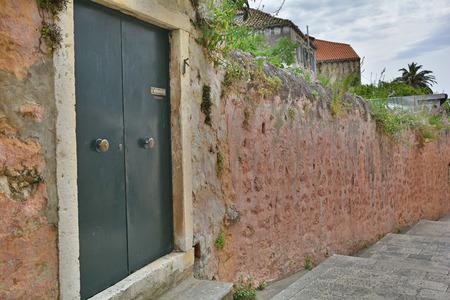 neretva: An old historic road in Dubrovnik