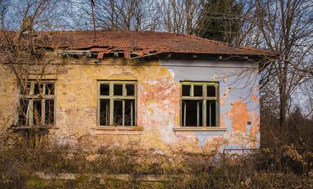 Donje Kusonje, an abandoned village in Virovitica-Podravina County, Slavonia, eastern Croatia