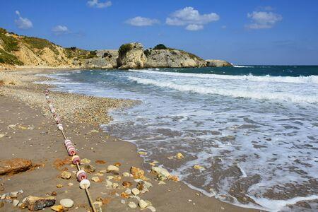 La costa del Mar Nero a Kilimli Bay, nei pressi di Agva, Sile, nel nord-ovest della Turchia