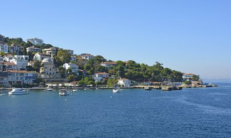 Burgazada, one of the Princes' Islands, also called Adalar, in the Sea of Marmara off the coast of Istanbul