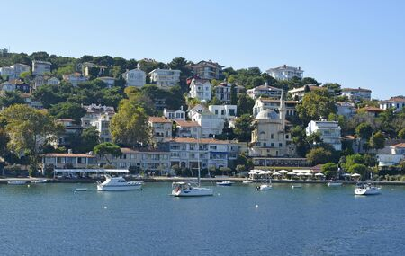 Burgazada, one of the Princes' Islands, also called Adalar, in the Sea of Marmara off the coast of Istanbul
