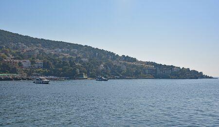 Buyukada, one of the Princes' Islands, also called Adalar, in the Sea of Marmara off the coast of Istanbul
