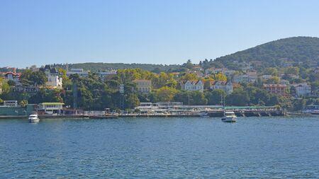 Buyukada, one of the Princes' Islands, also called Adalar, in the Sea of Marmara off the coast of Istanbul 版權商用圖片