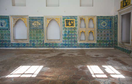 The Harem mosque in Topkapi Palace, Istanbul, Turkey Editorial