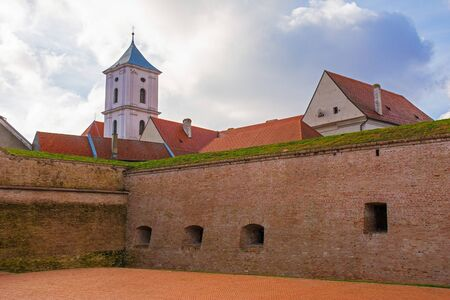 The old city walls of Osijek in Osijek-Baranja County, Slavonia, east Croatia