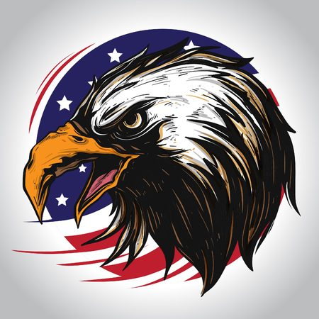 Strong Eagle Character of America icon