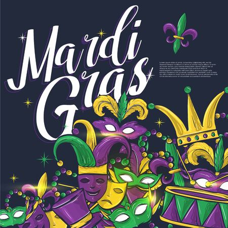 theme design mardi gras party