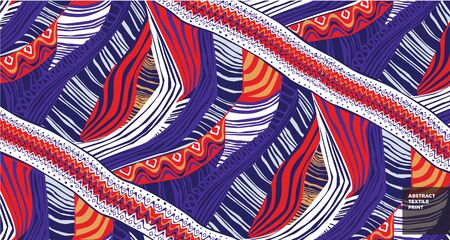 abstract textile for fabric print Ilustrace