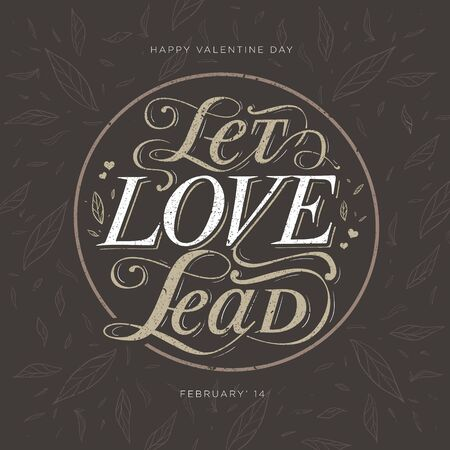 Lets love lead quote for valentine day