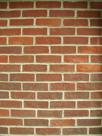 banging: a close up of a red brick wall background Stock Photo