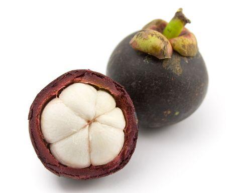 Tropical fruit - Mangosteen (Garcinia mangostana)