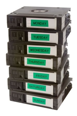 data recovery: Computer backup tapes for data recovery