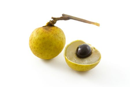 euphoria: Tropical fruit - Longan (Euphoria longan) Stock Photo