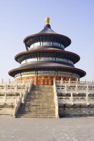 Temple of Heaven (Tian Tan) in Beijing Stock Photo