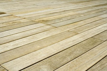 Flooring made of wooden planks