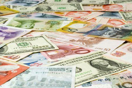 billets euros: Billets de divers pays