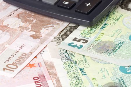 British and Euro currency pair commonly used in forex trading with calculator