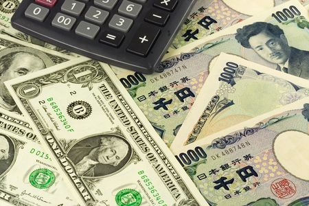 commonly: US and Japanese currency pair commonly used in forex trading with calculator