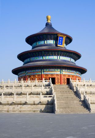 Temple of Heaven (Tian Tan) in Beijing, China