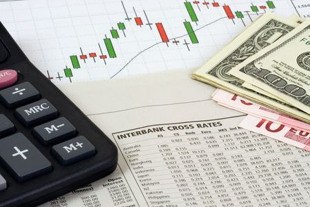 interbank: Forex trading - Interbank cross rate table with chart, calculator and money