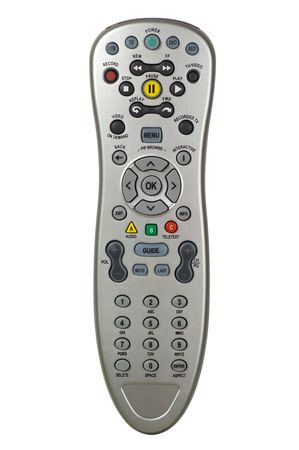 Remote control isolated on white background Stock Photo - 3839212