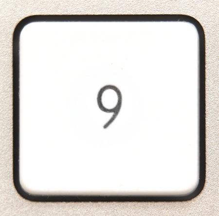 numpad:   Button  from a modern numpad.