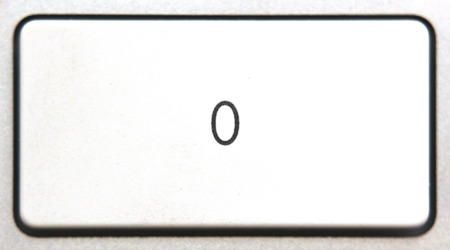 numpad:   Button 0 from a modern numpad.