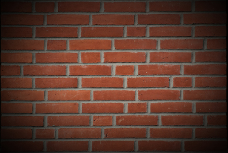 vignetting:   Red Brick Texture Vignetting was added. Stock Photo