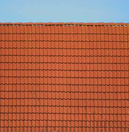 image created 21st century:   Roof with tiles usable as texture or background.