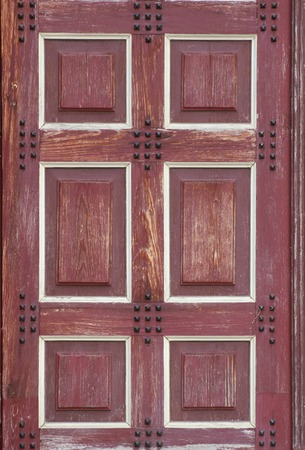 blanks:   Texture of a wooden door with blanks.