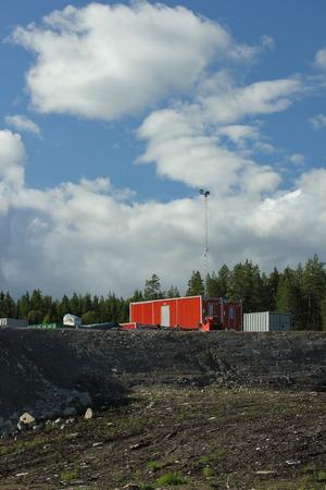 scandinavian peninsula: Construction site in Sweden.