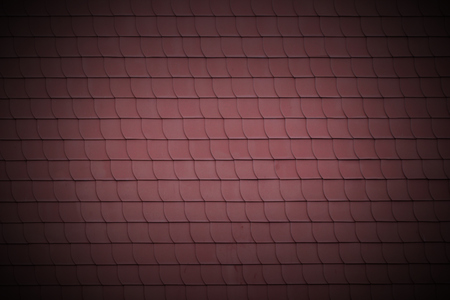 rooftiles: Staggered rooftiles usable as texture or background. Stock Photo