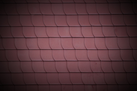 staggered: Staggered rooftiles usable as texture or background. Stock Photo