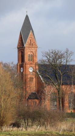 greifswald: BugenhagenkircheBugenhagen church in Wieck, Greifswald, Mecklenburg-Vorpommern, Germany.