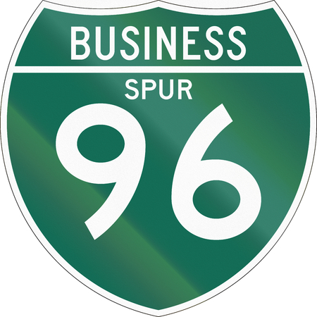 spur: Off-Interstate Business Spur shield.