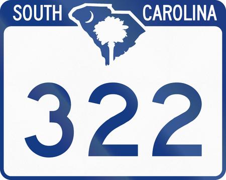 south carolina: US state route shield South Carolina.