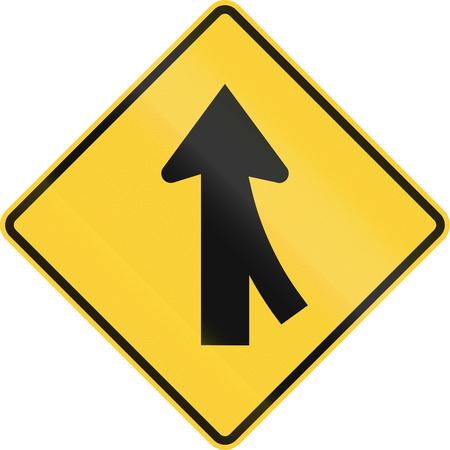 37324861-us-road-warning-sign-merge-ahea