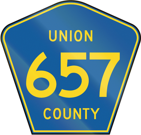 county: County route shield - Union County.