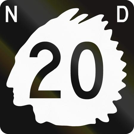 north dakota: United States North Dakota State Highway shield