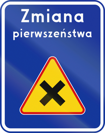 priority: Polish traffic sign: Change priority