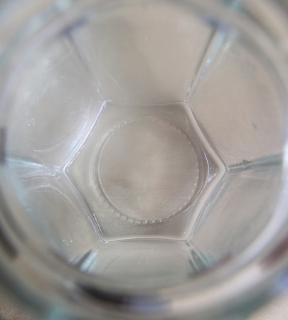 ''wide angle'': Abstract wide angle shot into a glass.