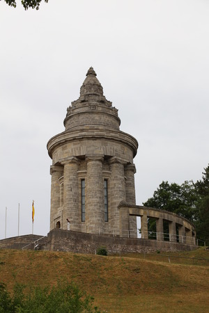 fraternity: The Burschenschaftsdenkmal (lit. fraternity monument) in Eisenach, Thuringia, Germany. The monument was completed in 1902 and is a symbol for the unification of Germany.