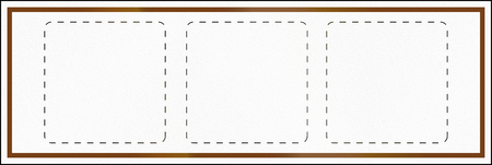 eg: A Blank Guide Road Sign In Ontario - Canada, with copy space for e.g. corporate icons. This sign is used in Ontario. Stock Photo