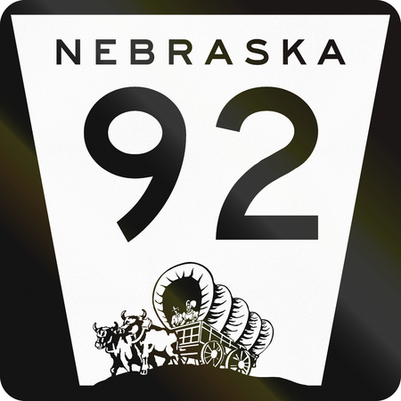 wagon: United States State Highway shield, Nebraska