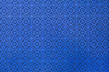 floor mat: Abstract shot of a floor mat pattern. Stock Photo